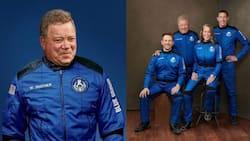 90-year-old Star Trek actor William Shatner sent to space on Blue Origin rocket