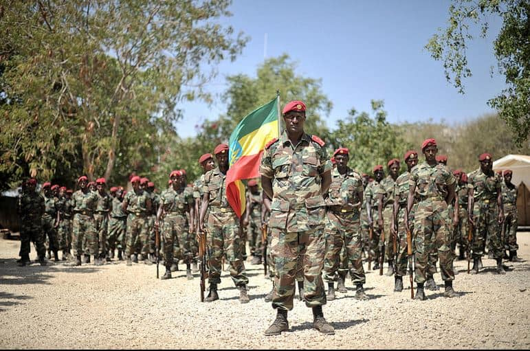 Which country in Africa has the strongest army?