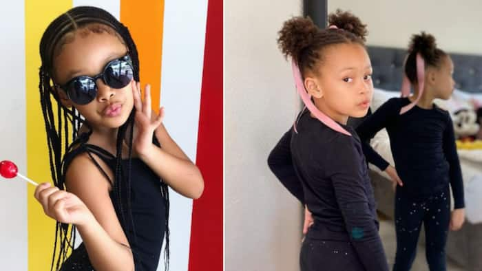 Kairo Forbes turns 6, AKA and DJ Zinhle down with a heavy case of the feels
