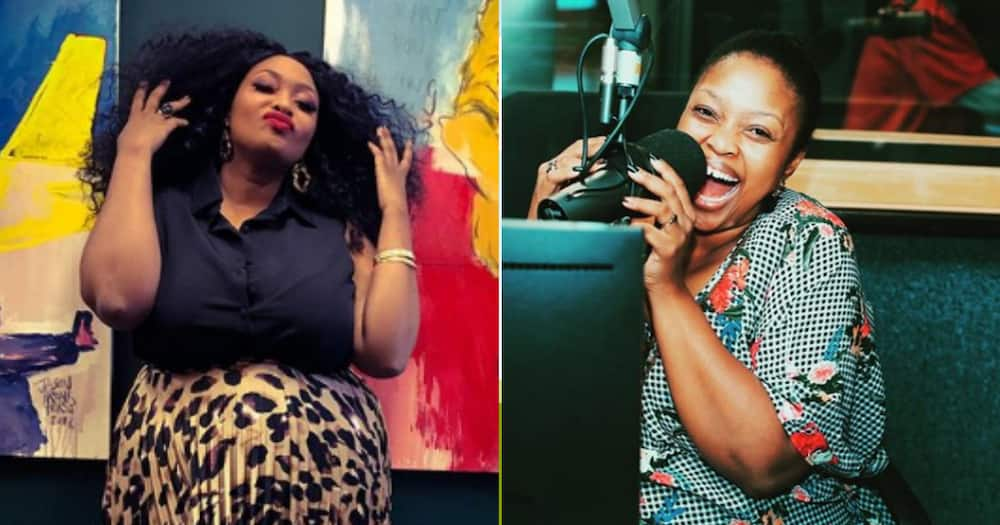 Relebogile Mabotja celebrates 1 month of motherhood, the dopest hood