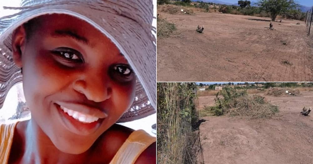 Lady Purchases a Humble Piece of Land, SA Encourages More Women to Do the Same