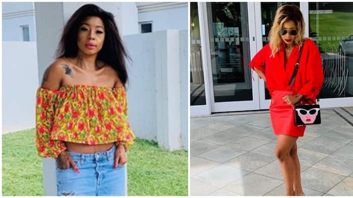 LOL: Kelly Khumalo calls out son for speaking broken English