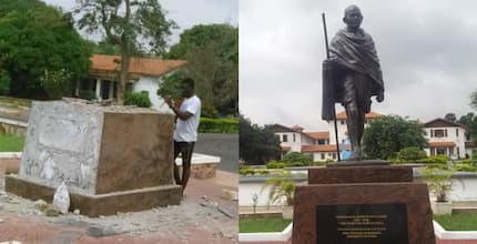 University of Ghana tears down 'racist' Gandhi's statue