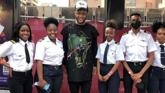 """""""Really proud"""": Mzansi is inspired by youngsters who are now pilots with help from the EFF"""
