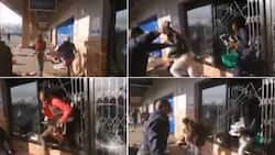 """Video of cops helping looters escape during protest: """"This country is a joke"""""""