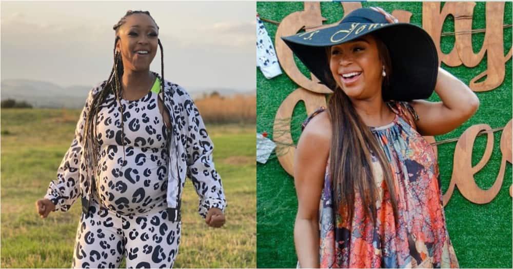Minnie Dlamini-Jones gives Mzansi a glimpse into baby's nursery