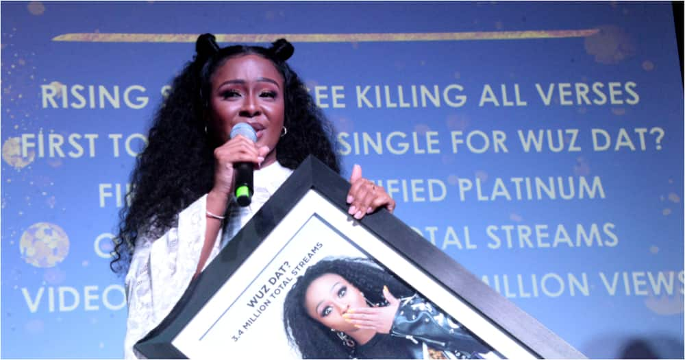 Boity is first female SA rapper to achieve Gold and Platinum plaques