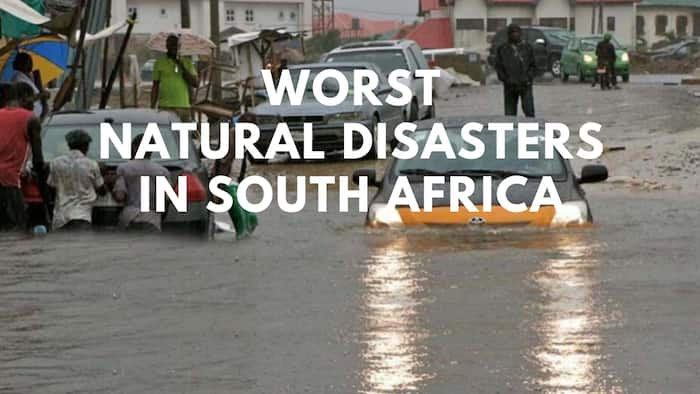 Notable natural disasters in South Africa that caused immense destruction