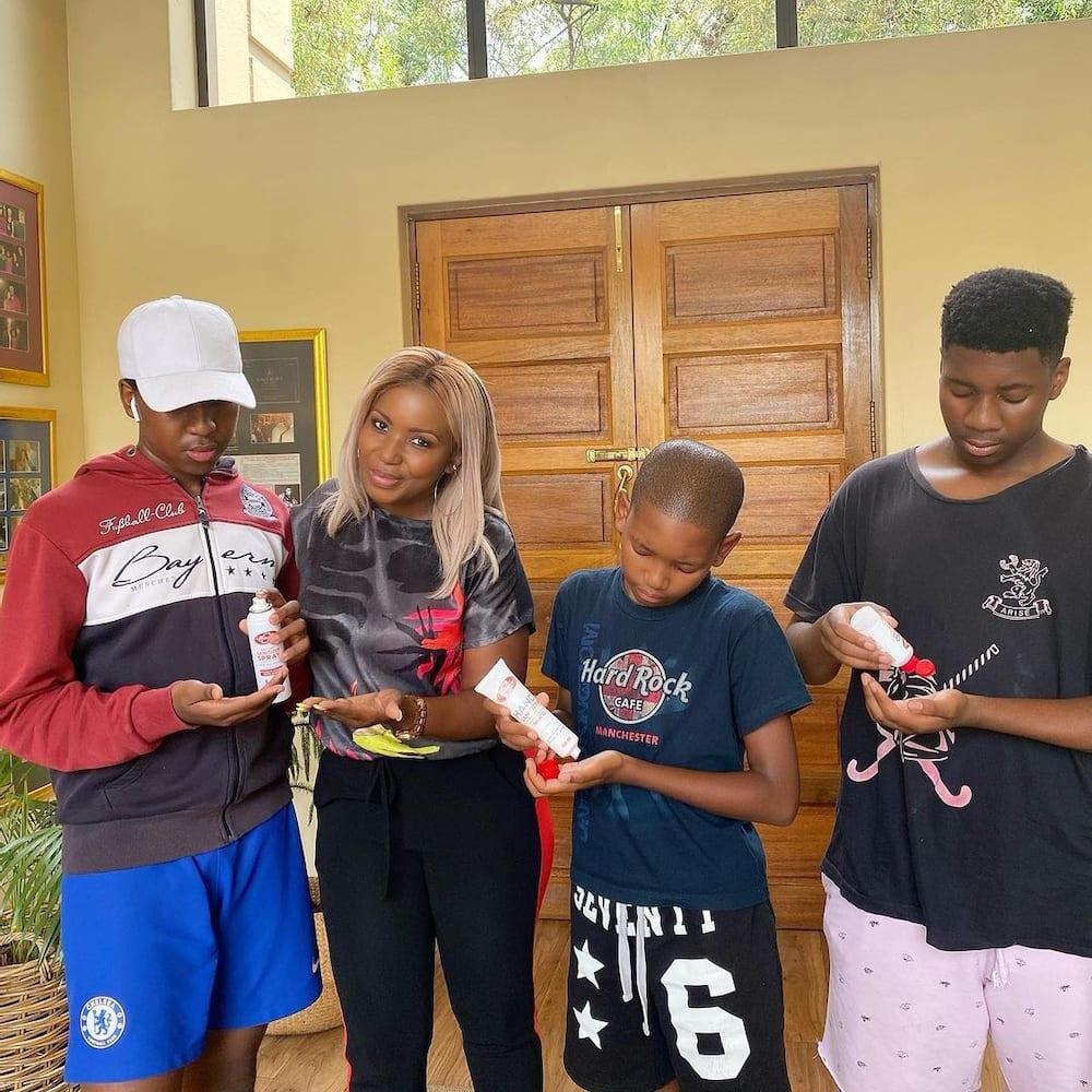 Carol Tshabalala's children