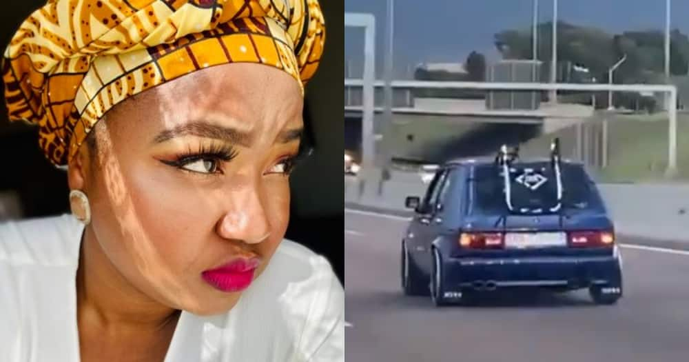 Woman calls exhaust pipe sound annoying