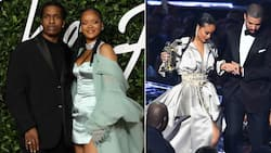 Just vibes: Rihanna parties with ASAP Rocky and her ex boyfriend Drake