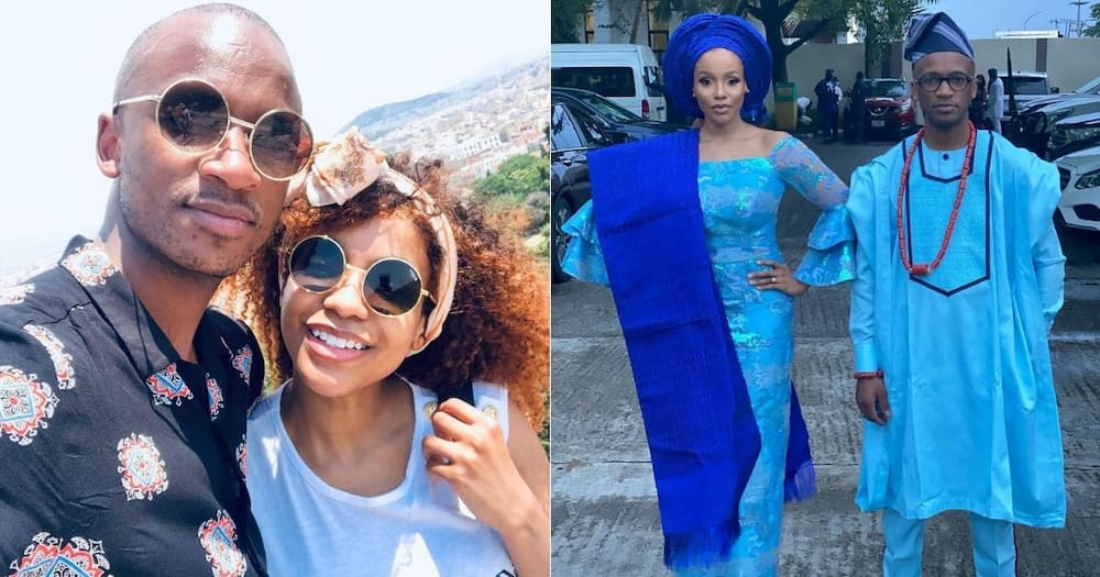 Psyfo pens sweet birthday message to his new wife Mirah Aamirah, Mzansi reacts