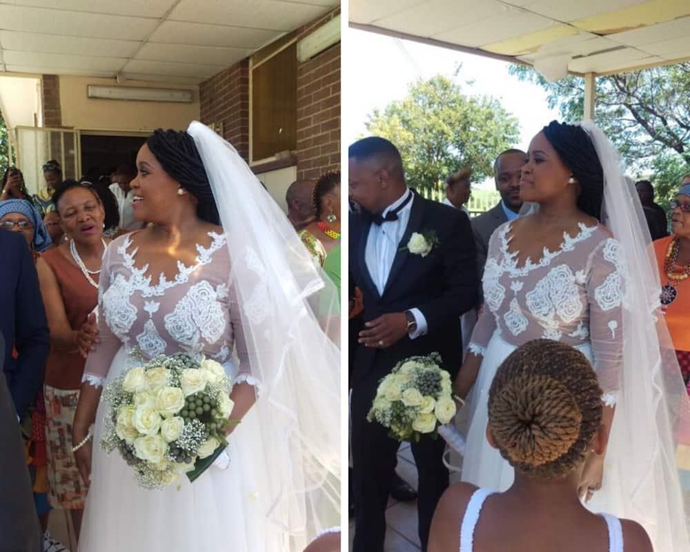 Bubu Mazibuko wedding