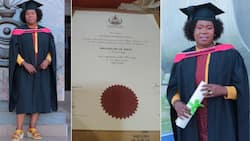Exclusive: Meet Edith Hlongwane, from security officer to BA degree holder