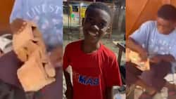 Prince Antwi: Student, 12, builds battery operated car from wood, video highlights ingenuity of Africa