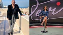 """Steve Harvey flirts with Mzansi TV host Devi Govender: """"You kind of fine"""""""