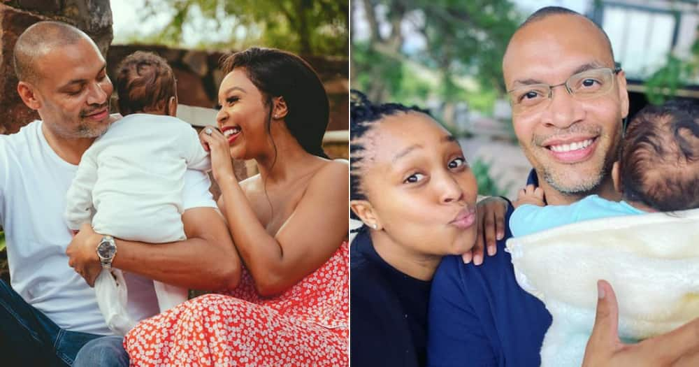Minnie Dlamini finally goes back to work after her maternity leave
