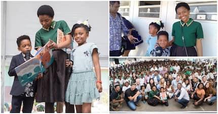 Mandela's great-grandkids keep his legacy alive in KZN school project