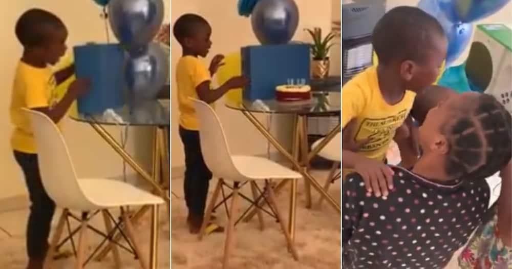 Mzansi, Loves, Little Boy, Sweet Reaction, Video, Birthday Gift