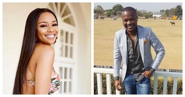 Queen B and Phil Mphela clash during the early stages of the media personality's tax scandal. Image source: Instagram