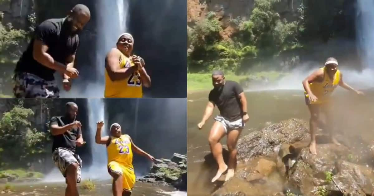 Fans adore Cass and Carpo's video as they take on #GoodForThatChallenge - Briefly.co.za