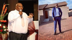 """""""Well done"""": Mzansi reacts to a man who shows off incredible weight loss"""