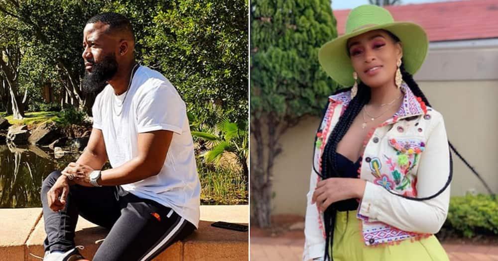 Cassper Nyovest got to enjoy Thobeka's pregnancy thanks to lockdown