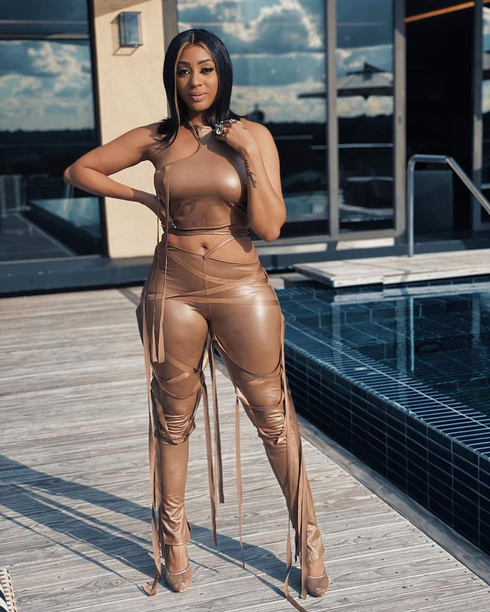 Curvy South African celebrities