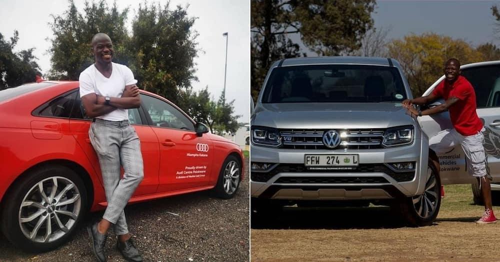 Mamelodi Sundowns skipper Hlompho Kekana has displayed his collection of cars. Image: @gonzalez_888/Instagram