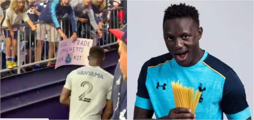 Former Premier League star exchanged his shirt for spaghetti with fan after MLS game