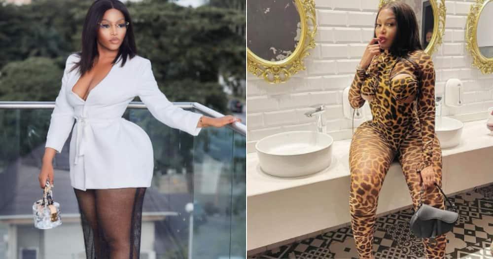 "Tebogo Thobejane makes creative ""cheating"" skit with comedian Michael Blackson"