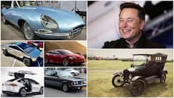 A look at Elon Musk's garage that has cars worth millions of Rands