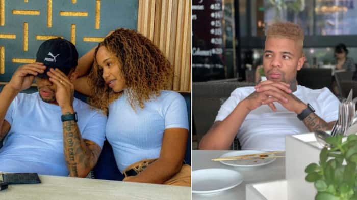 """George Lebese gets some anniversary """"fresh air"""" with wife Melba in the Maldives"""