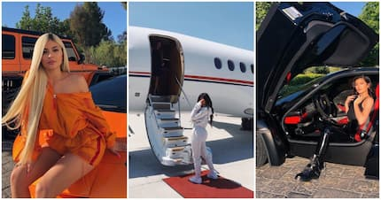 The luxury lifestyle of Kylie Jenner: Cosmetics, fashion and supercars