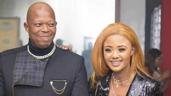 Heh banna: Babes Wodumo and Mampintsha warned of curse from Mamazala