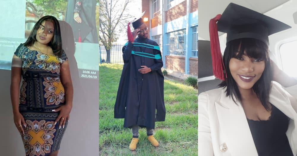 University of Free State Graduates Light Up Net With Graduation Posts