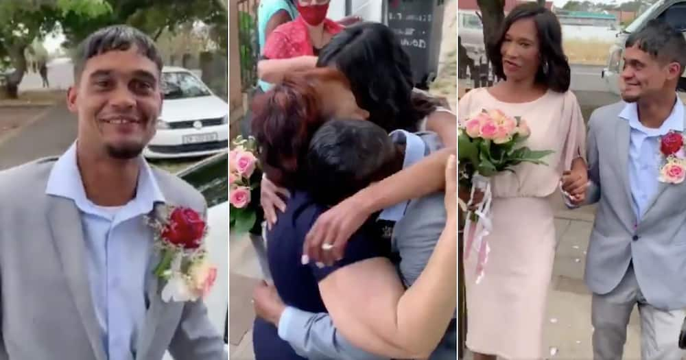 Love wins: Homeless couple in Cape Town have their dream wedding