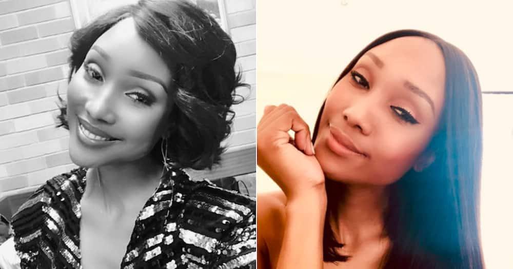 Zoe Mthiyane shares self-motivation amid rumours of emotional breakdown