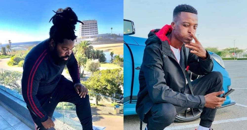 LOL: Man Offers to Fight Big Zulu for King Monada in #CelebrityBoxing Match
