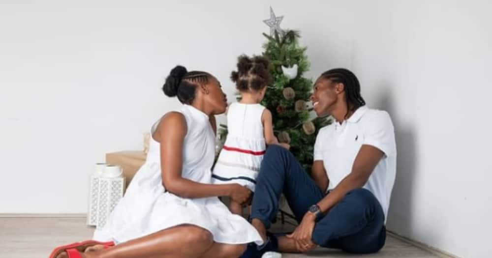 'A Day to Be Remembered: Caster Semenya Celebrates Her Daughter's 2nd Birthday