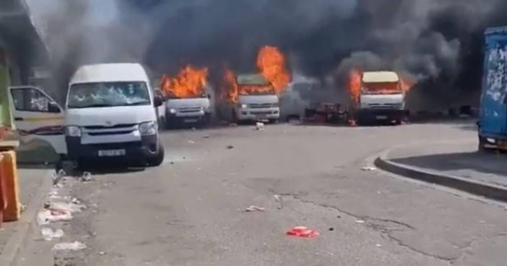 Gqeberha, Eastern Cape, violence, looting, gun shots