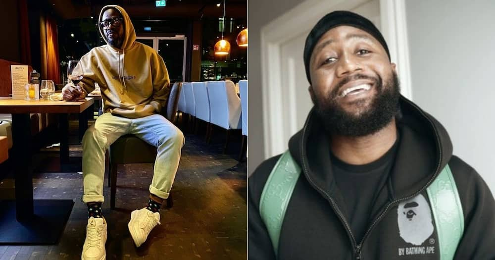 """Cassper Nyovest responds to Black Coffee's shout out: """"A king"""""""