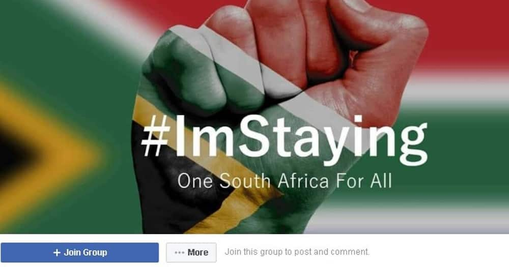 Local Facebook group, #ImStaying, celebrates what makes Mzansi a home