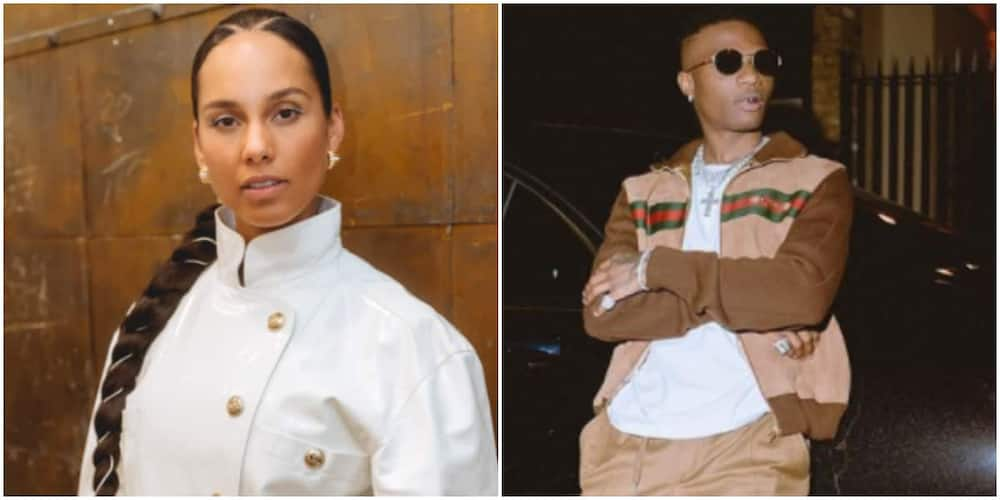 Pure Fire: American Singer Alicia Keys Hypes Wizkid's Latest Album, Made in Lagos
