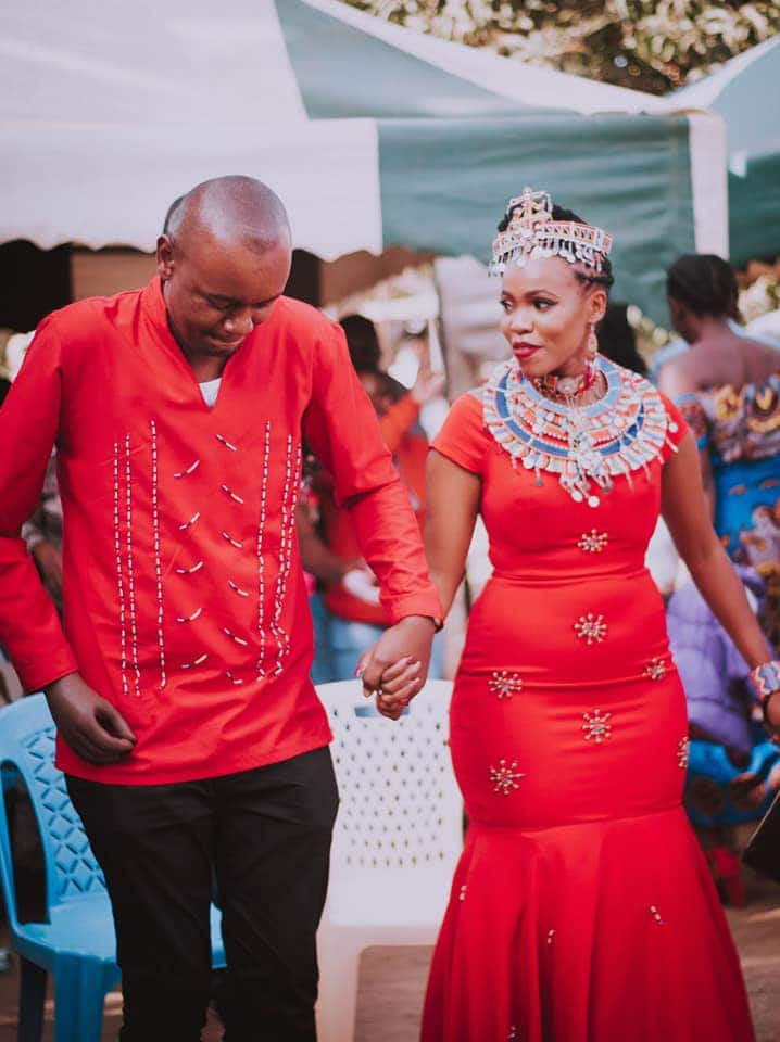 Maasai traditional wedding outfit Kenya