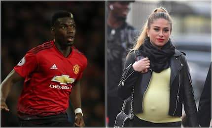 Pogba treats partner to expensive dinner after baby bump disappears