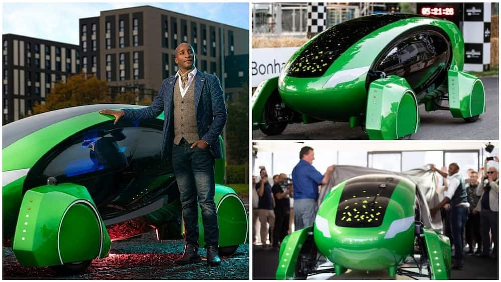 Pasi William Schiti has broken a barrier in the automobile industry with driverless cars. Photo source: Face2Face Africa