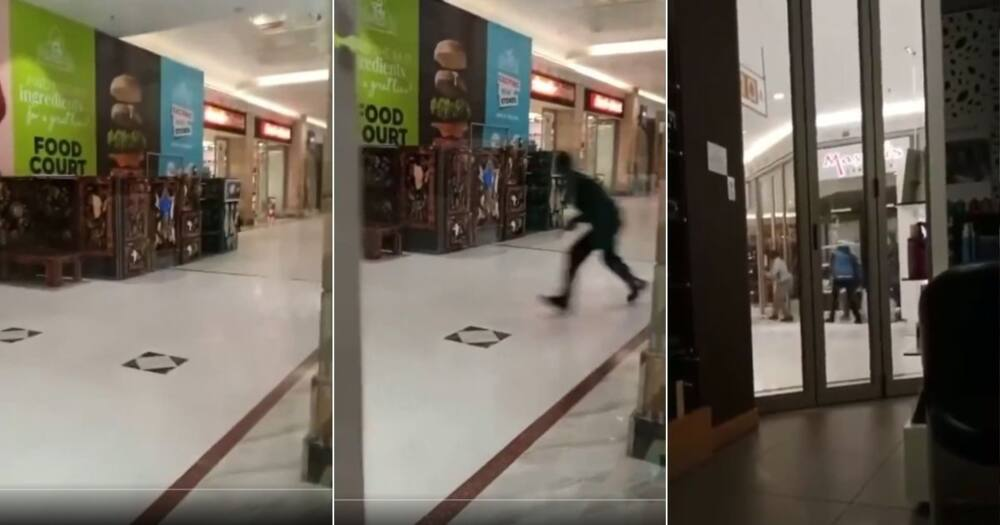 South Africans are reacting with condemnation to a video of a robbery in Durban. Image: Twitter