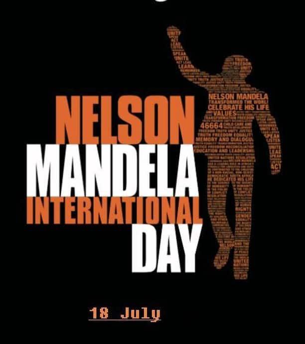 How does a Mandela Day logo look like?