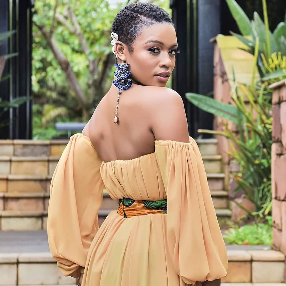 Nomzamo Mbatha hairstyle